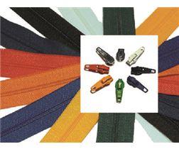 Coil zipper / Zipper slider