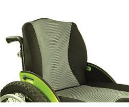 JOSI - ULTRA Rückensystem RS 2 Aluminium Rücken mit Polster, abnehmbar