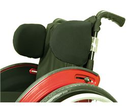 Thoracic pad system for wheelchairs, rigid