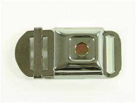"2-Punkt-Metallschloss ""Minitec"" mit Druckpunkt-Verschluss, 20 mm"