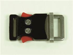 2-Punkt-Metallschloss, 20 mm