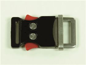 2-point-metal buckle, 20 mm