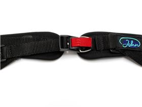 2-point pelvis belt with magnetic buckle ``Hook`` and pad, adjustable on one side
