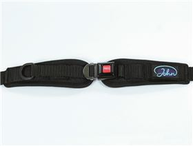 2-point pelvis belt with metal buckle Minitec, adjustable on one side