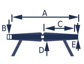 4-Punkt Beckengurt mit Rastverschluss für ROLLSTÜHLE