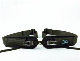 4-Punkt Beckengurt mit Rastverschluss für Sitzschalen