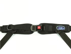 4-point pelvis belt with metal buckle Minitec, adjustable on one side