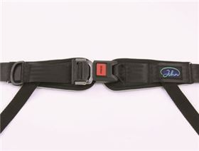 4-point pelvis belt with metal buckle and pad