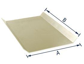 Aluminiumrohling 45° gekantet