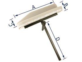 Armlehnenträger mit Lamellengelenk (Ausf.: R/L)