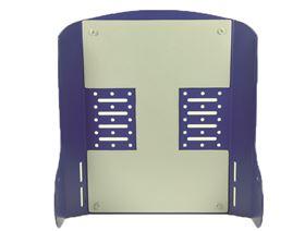 Basisplatte für Rückenmodul 1-teilig mit Einschlagmuttern M6