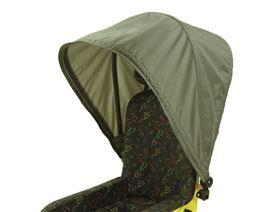 Faltdach für Sitzschalen