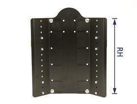 JOSI-ULTRA Rückensystem, Basis, RH 25 cm