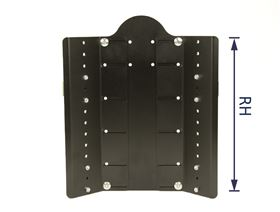 JOSI-ULTRA Rückensystem, Basis, RH 35 cm