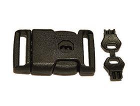 Kunststoff-Sicherheitssteckschloss mit Schlüssel, zusätzlich mit Ersatzschlüssel