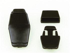 Kunststoff-Steckschloss Mini zum Annieten