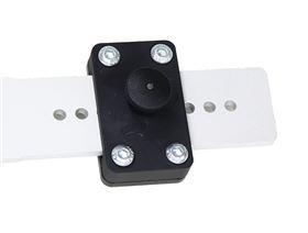 Pelottenverschiebung TP40 Rastelement mit Mini-Zugschnapper (ohne Rastschiebeteil Rohling)