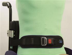Pelvis belts with metal buckles or plastic buckles