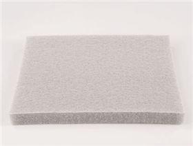 Polsterschaum (Rollenware), 10 mm einseitig mit Single Jersey kaschiert
