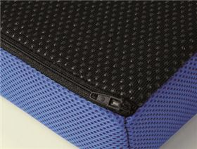 Seat cushion VB 100, covers available in different fabrics and colours