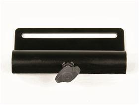 Therapietischhalter für Armlehne (Ø 25 mm)