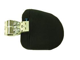 Thoraxpelottensystem für Rollstuhl, abschwenkbar