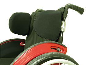 Thoraxpelottensystem für Rollstuhl, starr
