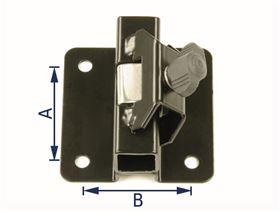 Universalhalter-Klemmsystem, gekröpft (10 mm)