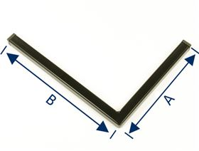 angle for abduction wedge device