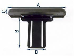 armrest support, flat