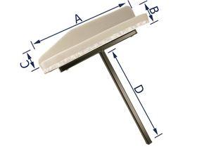 armrest support, rigid , (right or left-side fitting)