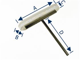armrest support, rigid