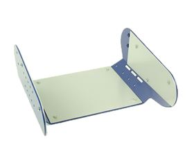 base plate for seat module, three-part