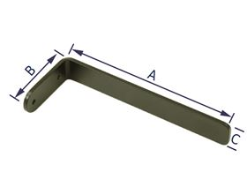 mounting angle for folding roof