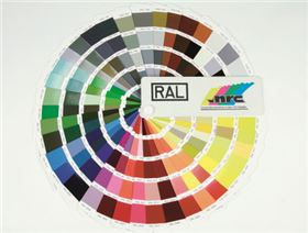 powder-coating seat module  (please select colour according to RAL-colour chart)