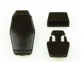 side release plastic buckle MINI to rivet on