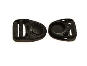 side release plastic buckle revolving sideways approx. 120°
