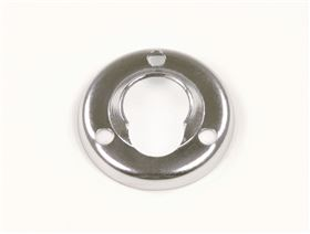 steel-chromed plate for ball and socket joints, with M5 bolts