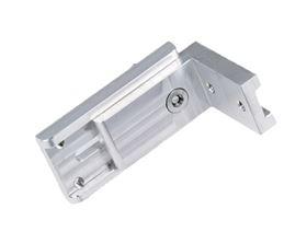 thoracic pad bracket,  angle 90°, movable