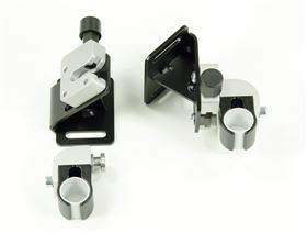 universal mounting for back- and seat systems with interlock