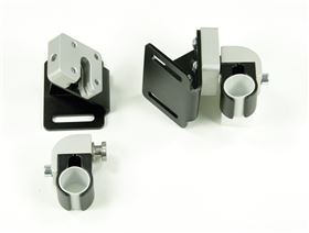 universal mounting for back- and seat systems without interlock